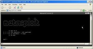 metasploit - cli