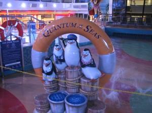 Splash area for kids