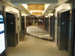 Aft elevators